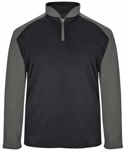 Badger Adult Ultimate SoftLock Sport 1/4 Zip Shirt