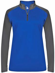 Badger Ladies Ultimate Sport 1/4 Zip Shirt