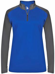 Badger Ladies Ultimate Sport 1/4 Zip Shirt