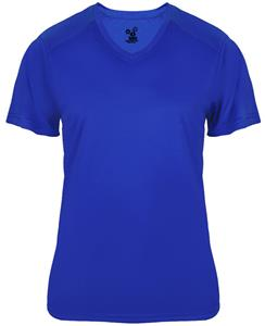 Badger Sport Ladies Ultimate V-Neck SS Tee