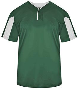 Badger Sport Adult Youth Striker Placket Shirt