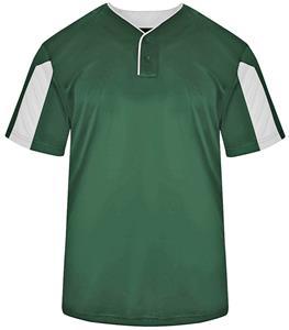 Badger Sport Adult Youth Striker Placket Shirt