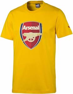 Puma AFC Arsenal Fan Crest Soccer Tee Shirt