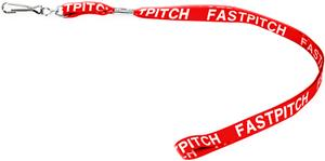 Fastpitch Softball Lanyards (ONE DOZEN)