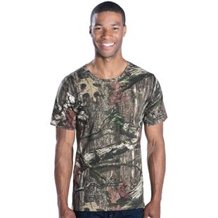 LAT Sportswear Adult Mossy Oak Camo Tee