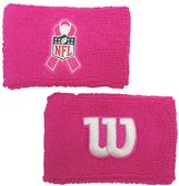 Wilson NFL BCA Cancer Awareness Wristband (pair)
