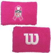 Wilson NFL BCA Cancer Awareness Wristband (pair)