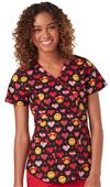 Code Happy Womens Valentines Day SmileyWorld Top