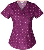 Code Happy Womens You've Dot This Wine Mock Top
