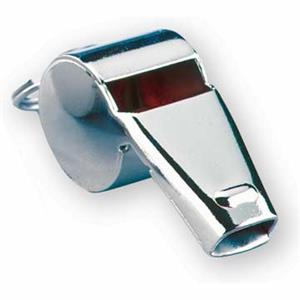"Nickel Plated 1.9"" Whistle - Dozens"