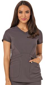 Careisma Women's V-Neck Scrub Top