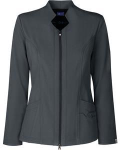 Sapphire Womens Melrose Notched Scrub Jacket