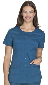 Cherokee Women's Round Neck Scrub Top