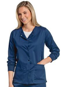 Landau Unisex All-Day Warm-Up Scrub Jacket