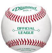 Diamond DOL-1 OL Youth Game/HS Practice  Baseballs