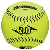 "Diamond Zulu Blue Stitch 12"" Slowpitch Softball"