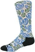 Red Lion Swirl Sublimated Crew Socks