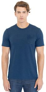 Royal Apparel Mens Organic Short Sleeve Pocket Tee
