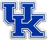"""Collegiate Kentucky 12"""" Vinyl Magnet"""
