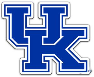 "Collegiate Kentucky 12"" Vinyl Magnet"