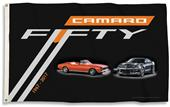 NASCAR Chevy Camaro 50th 3' x 5' Flag w/Grommets