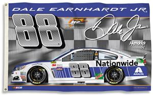 NASCAR Dale Earnhardt Jr. 3' x 5' Flag w/Grommets