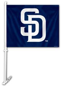 "MLB San Diego Padres 2-Sided 11"" x 14"" Car Flag"