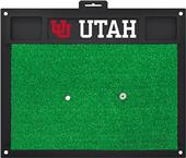 Fan Mats NCAA University of Utah Golf Hitting Mat