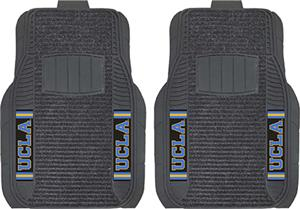 Fan Mats NCAA UCLA Deluxe Car Mats (set)