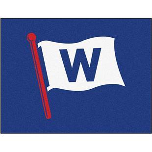 """Fan Mats MLB Chicago Cubs """"W"""" All Starter Mat"""