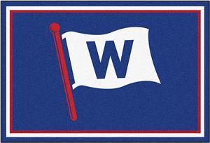 "Fan Mats MLB Chicago Cubs ""W"" 5'x8' Rug"