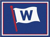 "Fan Mats MLB Chicago Cubs ""W"" 8'x10' Rug"