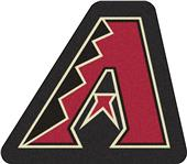 Fan Mats MLB Arizona Diamondbacks Mascot Mat