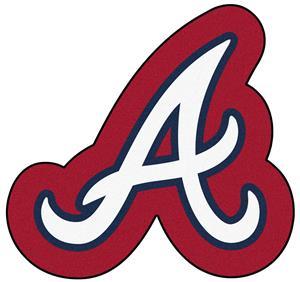 Fan Mats MLB Atlanta Braves Mascot Mat
