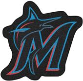 Fan Mats MLB Miami Marlins Mascot Mat