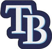 Fan Mats MLB Tampa Bay Rays Mascot Mat