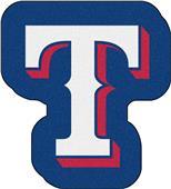 Fan Mats MLB Texas Rangers Mascot Mat