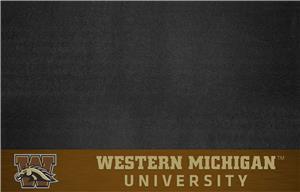 Fan Mats NCAA Western Michigan Univ. Grill Mat