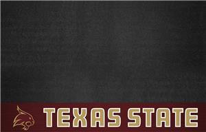 Fan Mats NCAA Texas State University Grill Mat