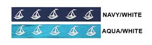 Sailboat Sleeve Ties (Pairs) 13 Colors Closeout