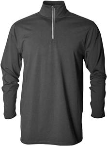 Baw Men's Comfort Weight 1/4 Zip Fleece Jacket