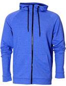 Baw Adult Vintage Tri-Blend FullZip Jacket