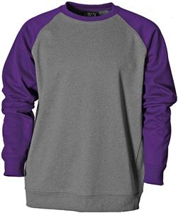 Baw Adult/Youth Raglan Crewneck Fleece