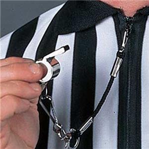 "Black Short 8"" Referee Lanyard (DOZENS)"