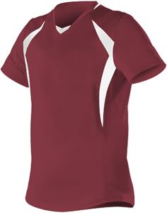 Alleson Women/Girls Short Sleeve Fastpitch Jersey