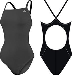 Adidas Womens Solid Vortex Back Swim Suit