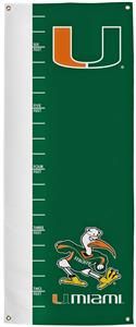 Collegiate Miami Growth Chart Banner