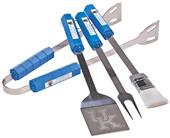 Collegiate Kentucky 4-Piece BBQ Set