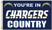 NFL Los Angeles Chargers Country Flag w/Grommet