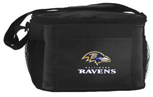 NFL Baltimore Ravens 6-Pack Cooler/Lunch Box